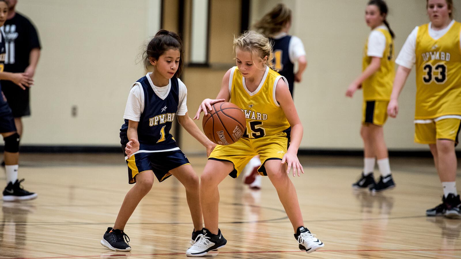 Upward Basketball Cheer First Baptist Forney