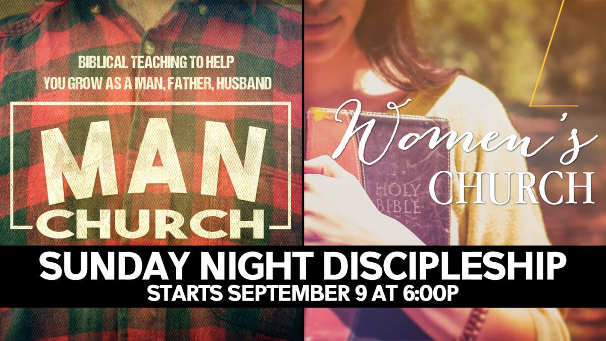 Discipleship Classes Begin