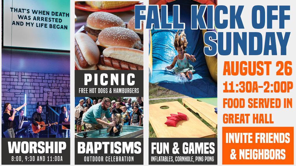 Fall Kick Off Sunday