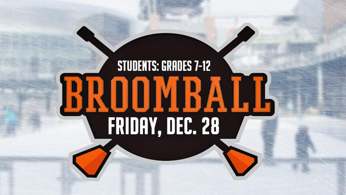 Student Broomball