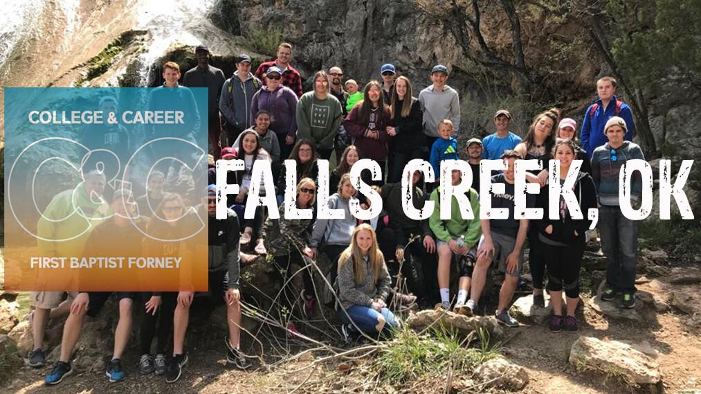 College & Career Retreat to Falls Creek, OK