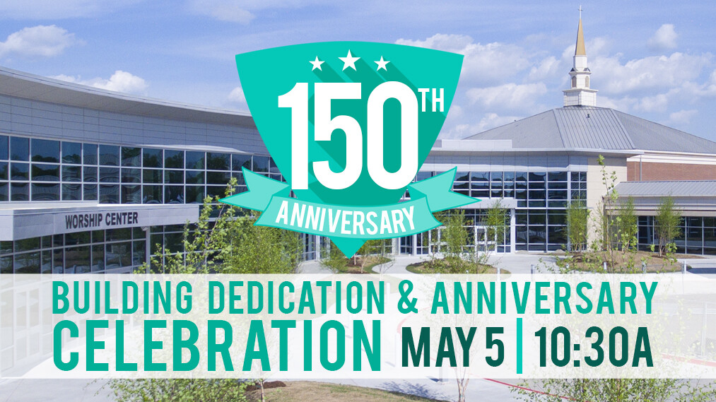 Formal Dedication & 150th Anniversary Celebration Service
