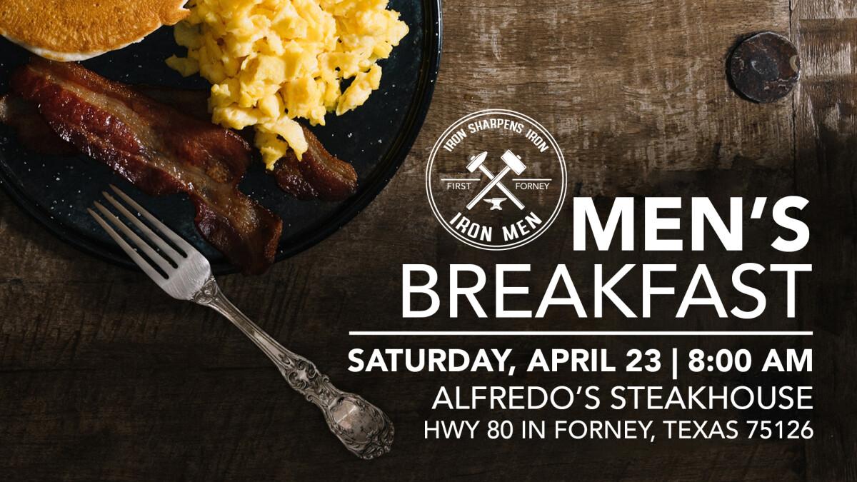 Iron Men's Breakfast