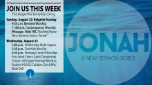 Jonah: On the Run